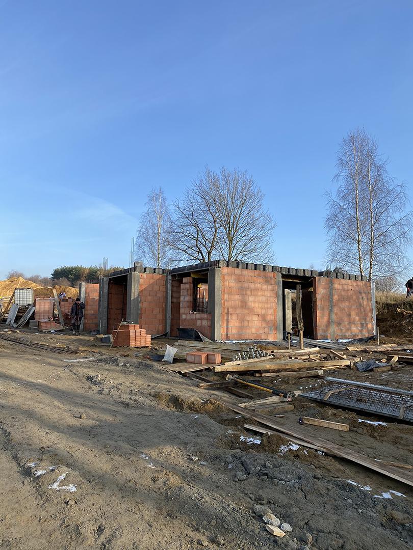 Budowa nowego osiedla domów