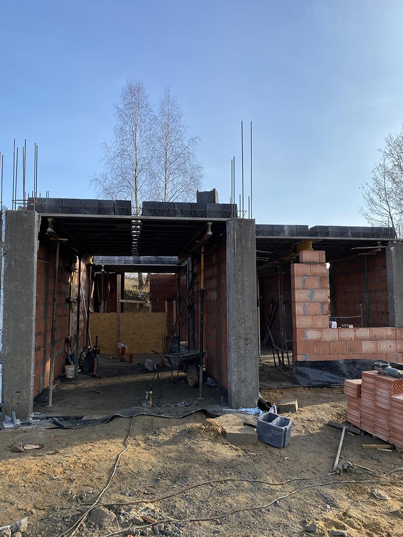 Budowa domu typu bliźniak